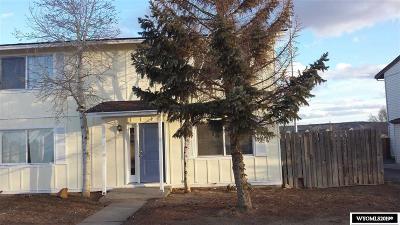 Rock Springs Single Family Home For Sale: 3280 B Roosevelt
