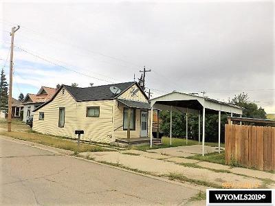 Kemmerer Single Family Home For Sale: 710 Sage Ave.
