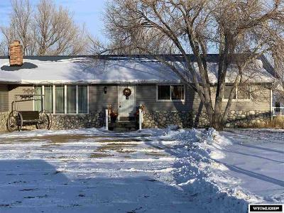 Rock Springs Single Family Home For Sale: 448 Washakie