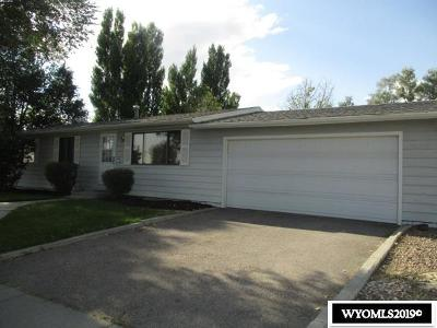 Rock Springs Single Family Home For Sale: 212 Mountain