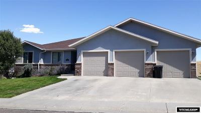 Casper Single Family Home For Sale: 4921 Stoneridge