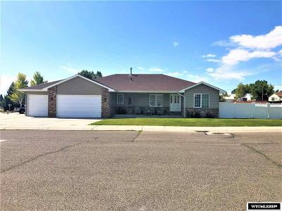 Rock Springs Single Family Home For Sale: 2700 Fall Creek