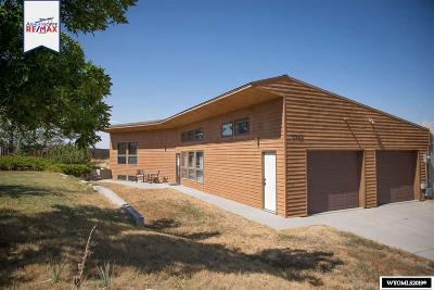 Casper Single Family Home For Sale: 5302 Chuckwagon