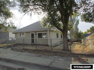 Rock Springs Single Family Home For Sale: 815 McKeehan