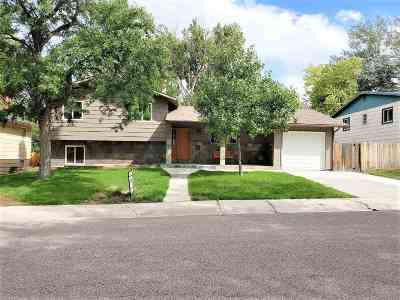 Casper Single Family Home For Sale: 1421 Kingsbury