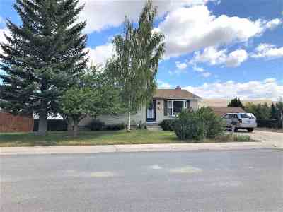 Kemmerer Single Family Home For Sale: 1002 7th West