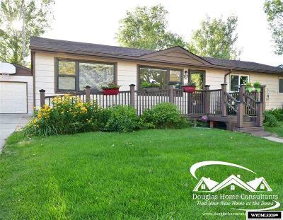 Glenrock Single Family Home New: 707 Grant