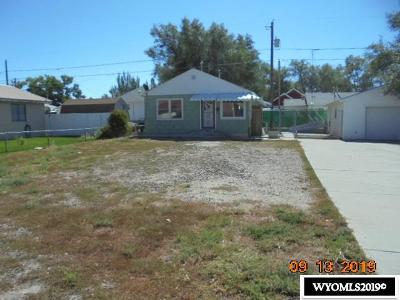 Rock Springs Single Family Home New: 1324 9th Street