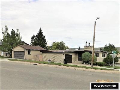 Kemmerer Single Family Home For Sale: 1705 Antelope Street