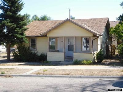 Casper Single Family Home New: 1121 S Cedar