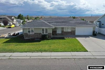 Rock Springs Single Family Home New: 2602 Cache Valley Dr