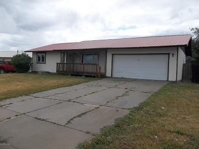 Wright WY Single Family Home For Sale: $121,100