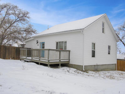 Moorcroft Single Family Home For Sale: 305 Sheridan St East