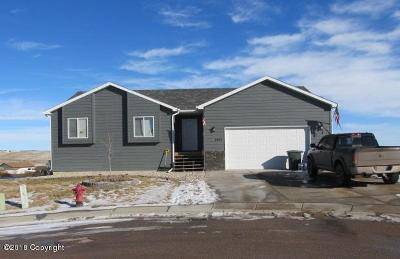 Gillette WY Single Family Home For Sale: $204,360