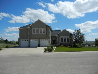 Gillette Single Family Home For Sale: 1601 Three Forks Dr