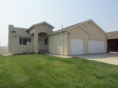 Gillette WY Single Family Home For Sale: $279,900