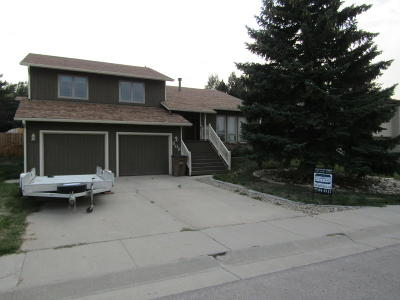 Gillette WY Single Family Home For Sale: $249,900