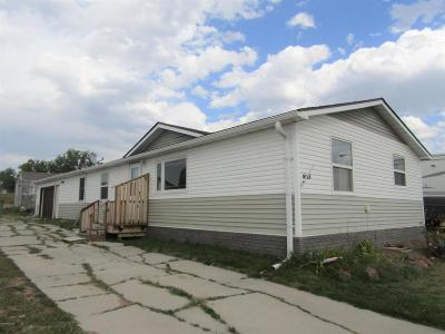 Wright WY Single Family Home For Sale: $99,900