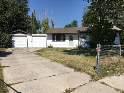 Gillette WY Single Family Home For Sale: $99,900