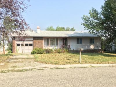 Buffalo WY Single Family Home For Sale: $170,000