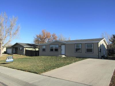 Wright WY Single Family Home For Sale: $95,000