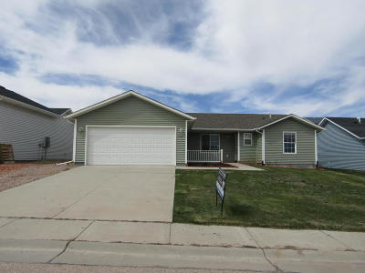 Gillette WY Single Family Home For Sale: $44,000
