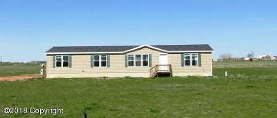 Rozet WY Single Family Home For Sale: $184,900