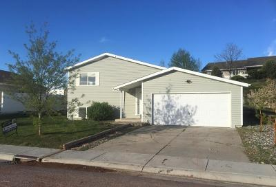 Gillette WY Single Family Home For Sale: $112,000