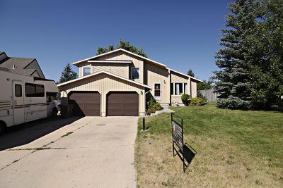 Gillette Single Family Home For Sale: 1112 Granite St W
