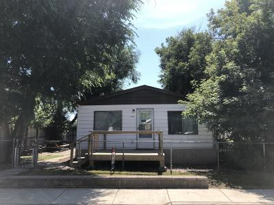 Gillette Single Family Home For Sale: 504 E Lincoln St E