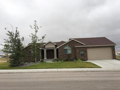 Gillette Single Family Home For Sale: 338 Legacy Parkway