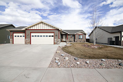 Gillette Single Family Home For Sale: 506 Layton Way