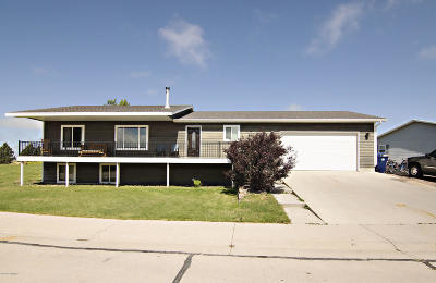 Moorcroft Single Family Home For Sale: 192 Tongue River Ave N