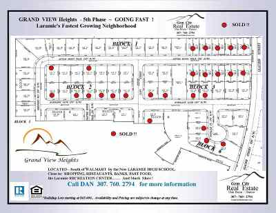 Laramie Residential Lots & Land For Sale: 1811 Pinnacle Court