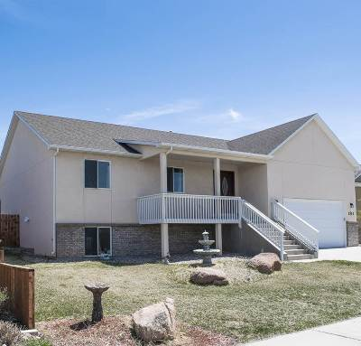 Laramie Single Family Home For Sale: 1513 Clydesdale Dr.