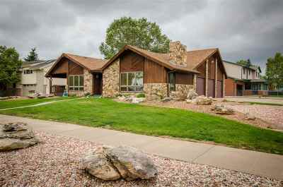 Laramie Single Family Home For Sale: 3805 Grays Gable