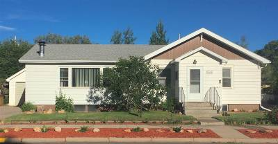 Laramie WY Single Family Home Price Change: $239,900