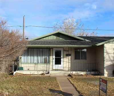 Laramie Single Family Home For Sale: 1117 Fetterman