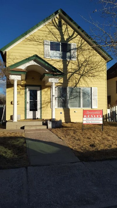 Laramie Single Family Home For Sale: 817 S 8th