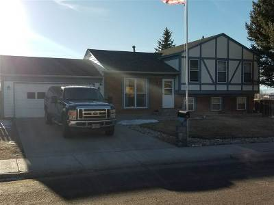 Laramie WY Single Family Home For Sale: $249,500