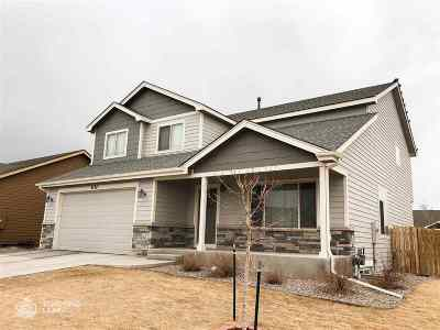 Laramie Single Family Home For Sale: 4132 Cliff