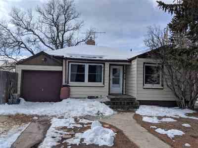 Laramie Single Family Home New: 1012 E Gibbon