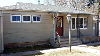 Laramie WY Single Family Home For Sale: $215,000