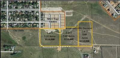 Laramie Residential Lots & Land For Sale: Lot 3 Prairie View Estates