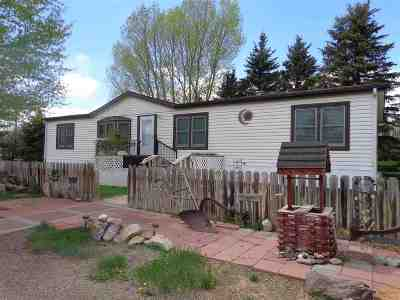 Laramie Single Family Home For Sale: 5520 Chaparral Drive