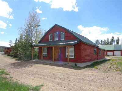 Laramie Single Family Home For Sale: 4063 Highway 230, Aspen Lodge #9