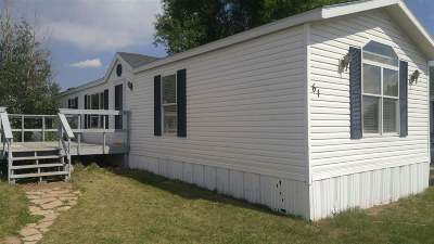 Laramie WY Single Family Home For Sale: $35,000