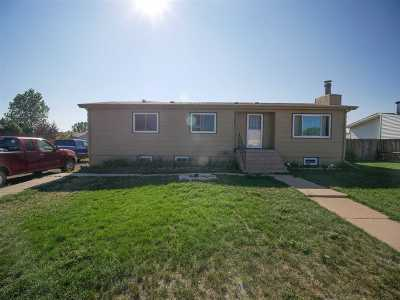 Laramie WY Single Family Home New: $215,000