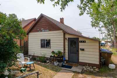 Laramie Single Family Home For Sale: 266 N Cedar