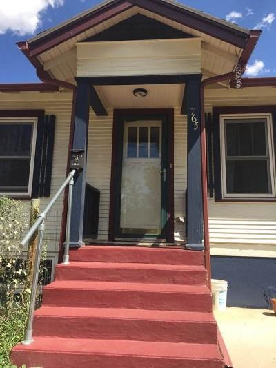 Laramie Single Family Home Back On Market: 765 N 10th Street